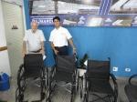 2013 - Milton Accetturi (Clube dos Jipeiros) - 3 Cadeiras de rodas