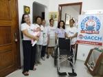 2011 - Grupo de apoio as crianças com câncer e hemopatias